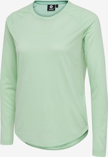 Hummel T-shirt L/S in grün / mint, Produktansicht