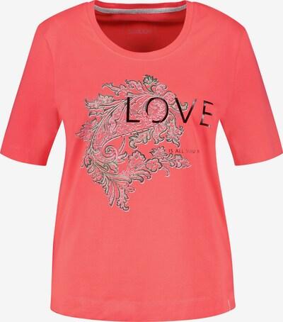 SAMOON T-Shirt in orangerot, Produktansicht