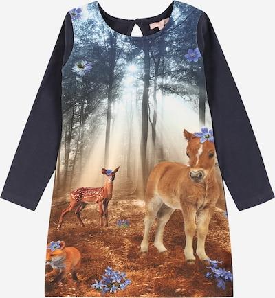LEMON BERET Kleid in dunkelblau / mischfarben, Produktansicht