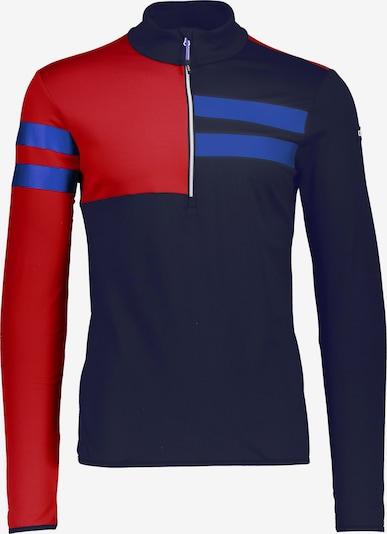 CMP Shirt in marine / himmelblau / knallrot, Produktansicht