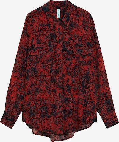 MANGO Halenka 'Lulu' - červená / černá, Produkt