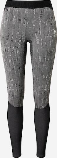 ODLO Sporthose in hellgrau / graumeliert / schwarz, Produktansicht