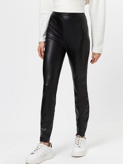 zero Leggings in schwarz, Modelansicht