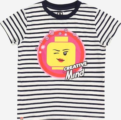 LEGO WEAR Camiseta en marino / amarillo / rosa / melón / offwhite, Vista del producto