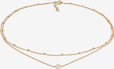 ELLI Halskette Edelsteinkette, Layer in gold, Produktansicht