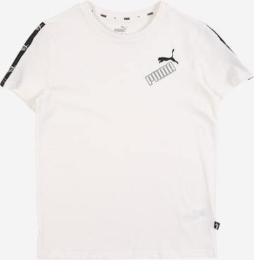 PUMA T-Shirt 'Amplified' in Weiß