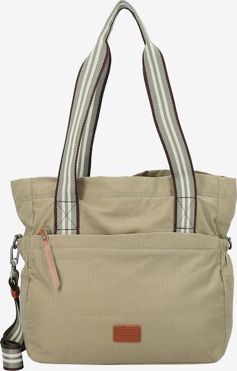 CAMEL ACTIVE Schultertasche 'Blair' in braun / grau / pastellgrün / schwarz / weiß, Produktansicht
