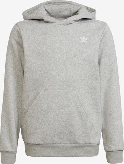 ADIDAS ORIGINALS Sweatshirt i gråmelerad / vit, Produktvy