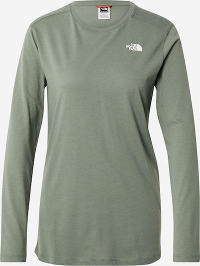 THE NORTH FACE Shirt 'SIMPLE DOME' in pastellgrün / weiß, Produktansicht