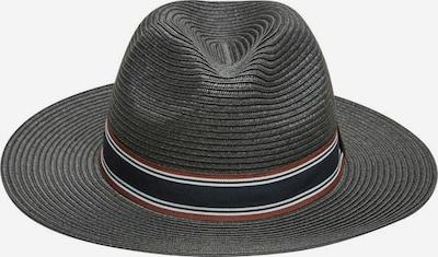 SELECTED HOMME Hut in braun / schwarz / weiß, Produktansicht