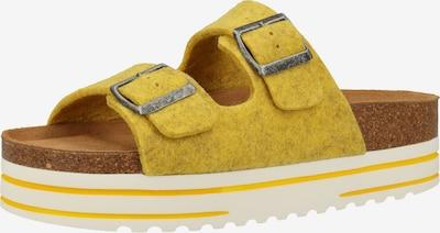 SHEPHERD OF SWEDEN Hausschuhe in gelb, Produktansicht