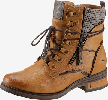 MUSTANG Ankle Boots in Braun