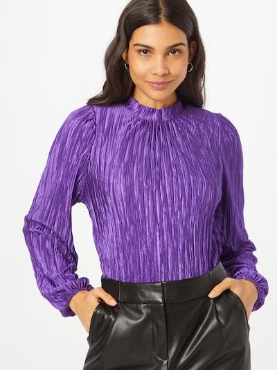 NAF NAF Bluse 'Giovana' in lila, Modelansicht