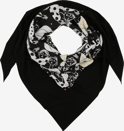 Doris Streich Stoffen mondkapje in de kleur Geel / Gemengde kleuren / Zwart / Wit, Productweergave