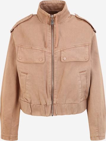 Pimkie Between-Season Jacket in Brown