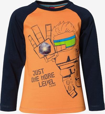 s.Oliver Shirt in marine / orange, Produktansicht