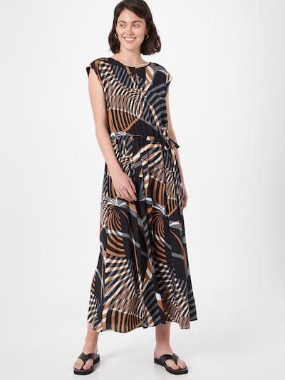 barna / fekete / fehér Cartoon Estélyi ruhák, Modell nézet