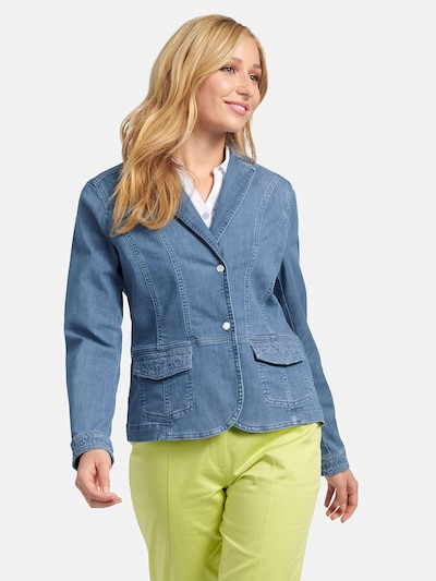 Basler Blazer in blue denim, Modelansicht