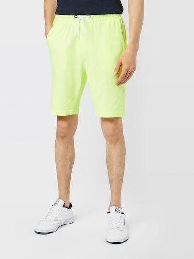 BLEND Kalhoty - svítivě žlutá, Model/ka