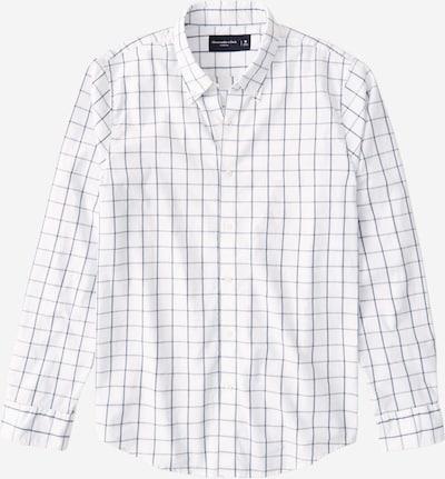 Abercrombie & Fitch Hemd 'WEBEX' in dunkelblau / weiß, Produktansicht