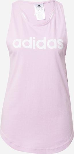 ADIDAS PERFORMANCE Top deportivo en lila pastel / blanco, Vista del producto