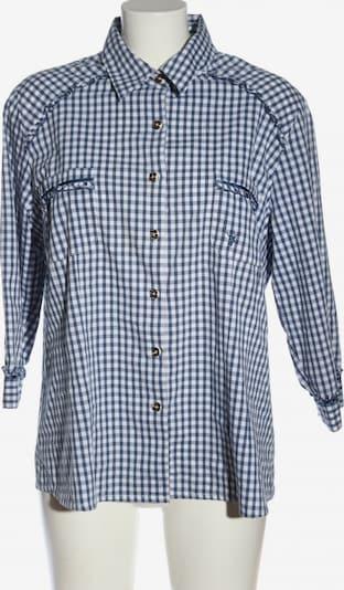 SPIETH & WENSKY Trachtenhemd in 4XL in blau / weiß, Produktansicht