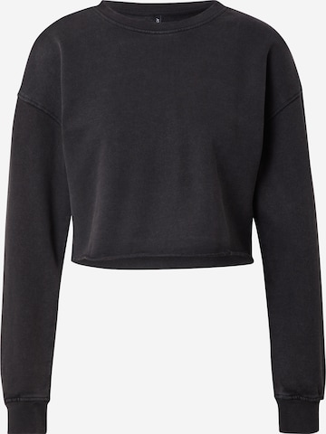 ONLY Sweatshirt 'LUCINDA' in Schwarz