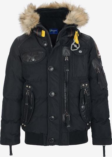 CIPO & BAXX Winterjas 'Radar' in de kleur Zwart, Productweergave