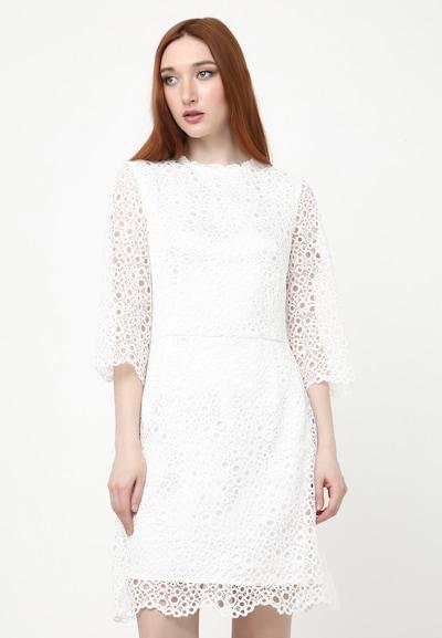 Madam-T Kleid 'Sontera' in weiß, Modelansicht