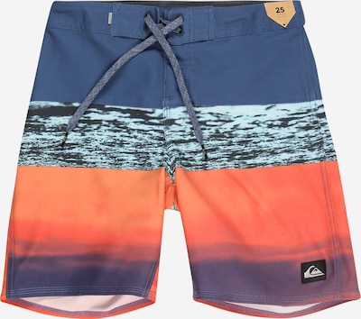 QUIKSILVER Maillot de bain de sport 'Surfsilk Panel 16' en marine / bleu clair / orange, Vue avec produit