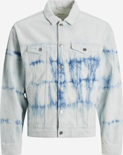 JACK & JONES Jeansjacke 'Jean CJ504' in blau / weiß, Produktansicht