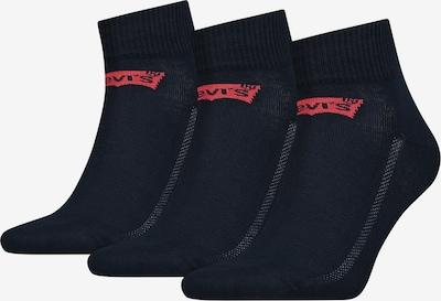 LEVI'S Socken in dunkelblau / rot, Produktansicht