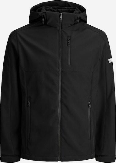 Jack & Jones Junior Outdoorjacke in schwarz, Produktansicht