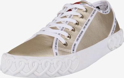 Love Moschino Sneaker GOLDEN in gold, Produktansicht