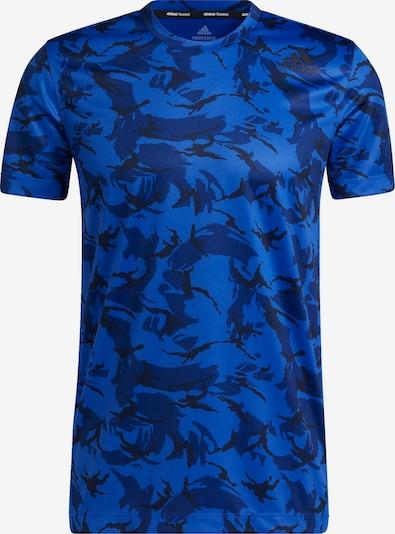ADIDAS PERFORMANCE T-Shirt fonctionnel en bleu marine / bleu roi / noir, Vue avec produit