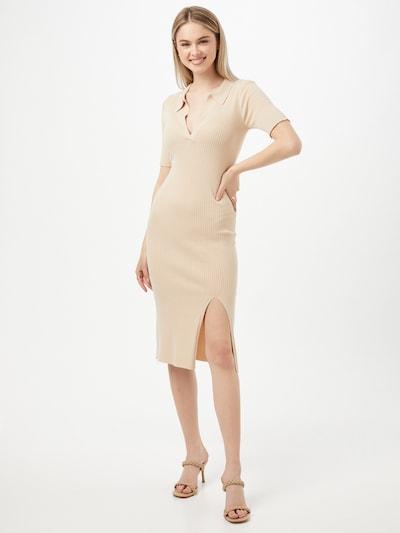 homok Neo Noir Kötött ruhák 'Tine Knit', Modell nézet