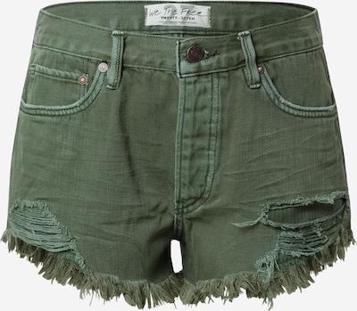Free People Jeans in grün, Produktansicht