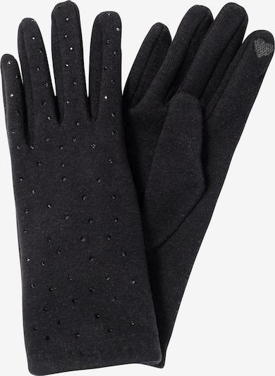 HALLHUBER Full Finger Gloves in Black, Item view