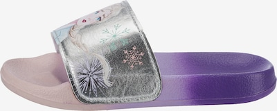 Disney Die Eiskönigin Badeschuh in lila / silber, Produktansicht