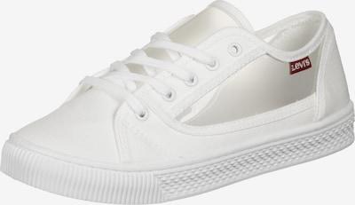 LEVI'S Schnürschuh 'Malibu ' in weiß, Produktansicht