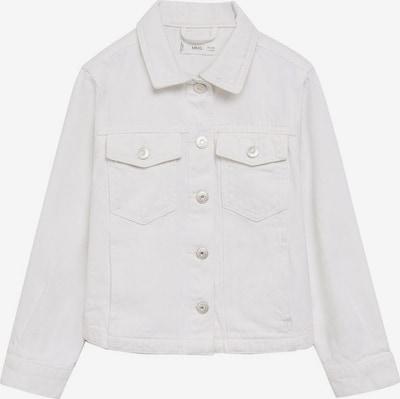 MANGO KIDS Jacke 'Sandy' in weiß, Produktansicht