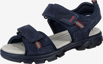 SUPERFIT Sandalen SCORPIUS WMS Weite M4 für Jungen in Blau