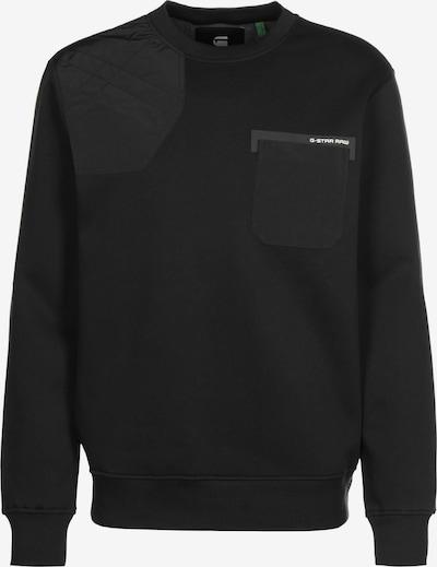G-Star RAW Sweatshirt ' Hunting patch ' in de kleur Zwart, Productweergave