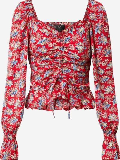 Bluză 'TA346' AX Paris pe mai multe culori / roșu, Vizualizare produs