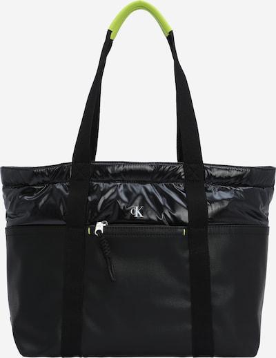 neonsárga / szürke / fekete Calvin Klein Jeans Shopper táska, Termék nézet