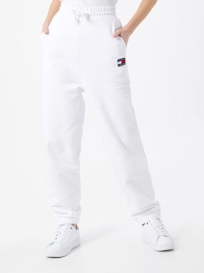 Pantaloni Tommy Jeans di colore bianco, Visualizzazione modelli