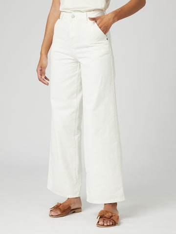 Guido Maria Kretschmer Collection Jeans 'Lia' in Wit