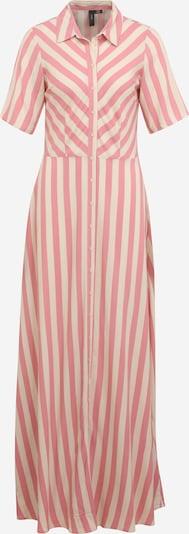 Y.A.S Tall Robe-chemise 'SAVANNA' en mastic / rose clair, Vue avec produit