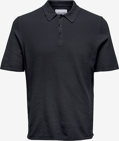 Only & Sons Shirt 'Moose' in Black, Item view