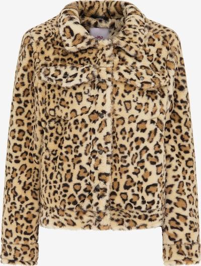 MYMO Jacke in beige / braun / schwarz, Produktansicht